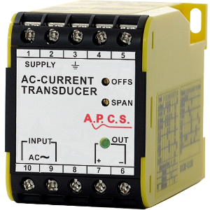 Act on Current Transducer Connection